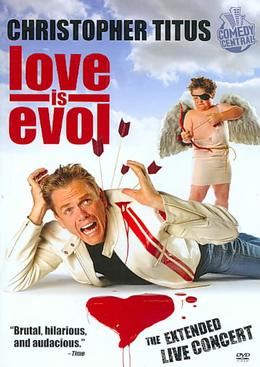 CHRISTOPHER TITUS:LOVE IS EVOL BY TITUS,CHRISTOPHER (DVD)